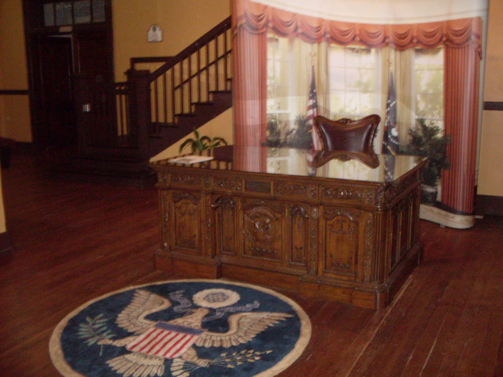 A replica of the president's oval office