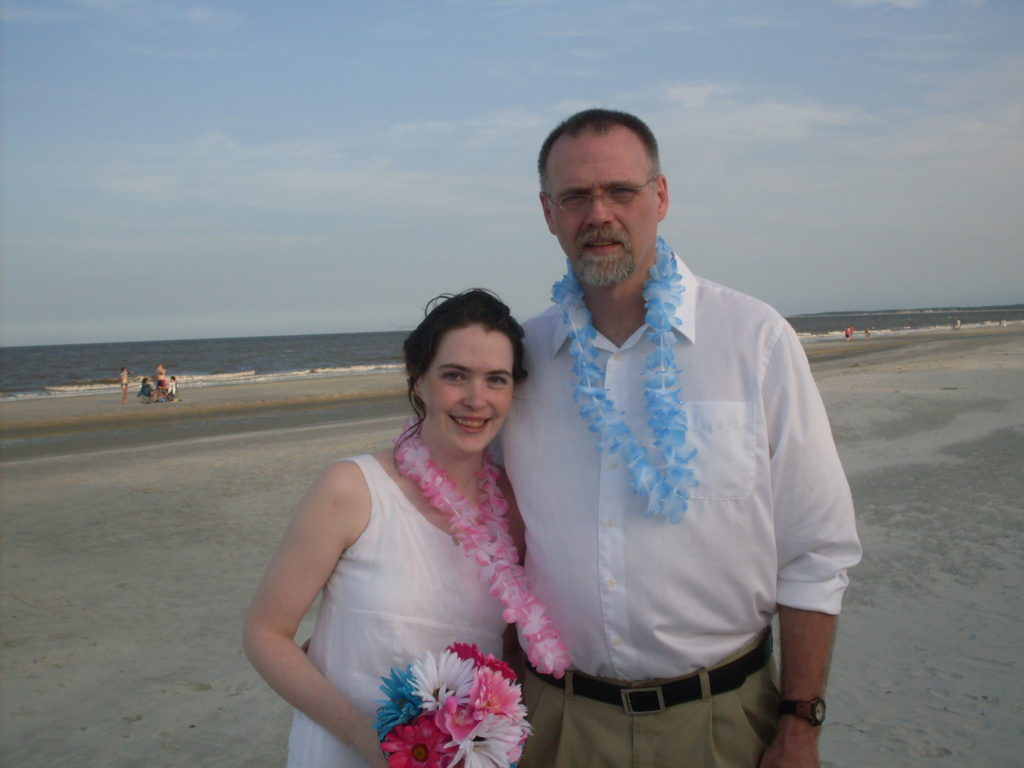 Daddy and Me wedding