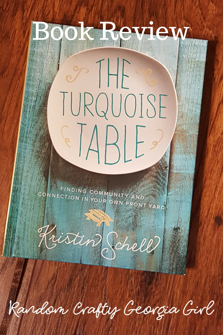book cover of The Turquoise Table by Kristin Schell